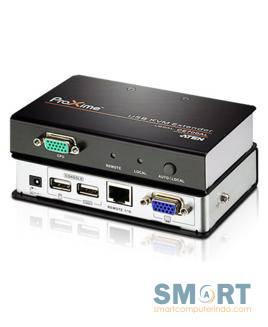 USB VGA Cat 5 KVM Extender (1280 x 1024@150m) CE700A
