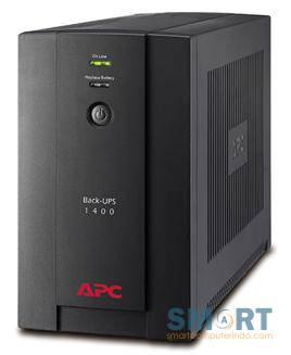 Back-UPS 1400VA, 230V, AVR, Universal and IEC Sockets BX1400U-MS