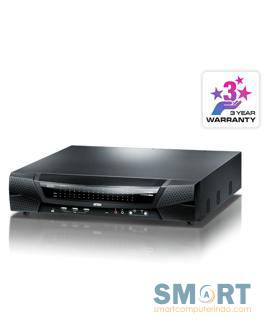 1-Local/4-Remote Access 64-Port Cat 5 KVM over IP Switch with Virtual Media (1920 x 1200)