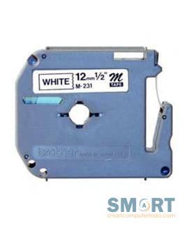 Labelling Tape BLACK ON WHITE M-K231