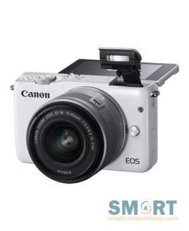EOS M10 White with Lens EF-M15-45mm EOSM10-W1