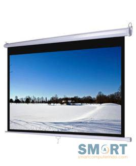 D-Light Manual Wall Screen 127x127 cm / 50x50 In ..