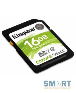 16GB SDHC Canvas Select 80R CL10 UHS-I up to 80mb/s SDS/16GB